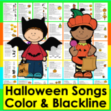 Halloween Activities:  Poems and Songs for Shared Reading and Fluency