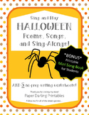Halloween Poems, Songs and Sing-Alongs with Student Book a
