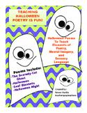 Halloween Poems:  Teaching Elements of Poetry