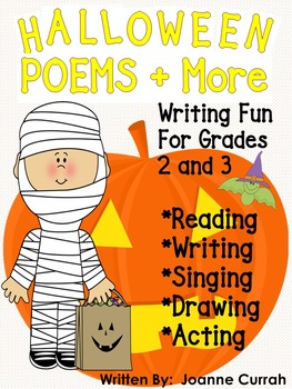 Halloween Poems and More! A bundle of literacy fun for grades 2 and 3