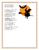 Halloween Poems with Response Questions