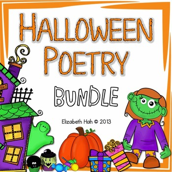 Halloween Poetry BUNDLE