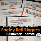 Halloween Poetry Analysis Writing Prompts or Bell Ringers