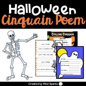 Halloween Poetry--Cinquain