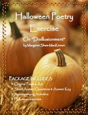 Halloween Poetry Exercise