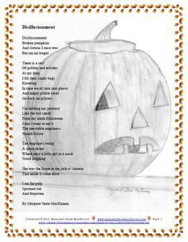 Halloween Poetry Exercise