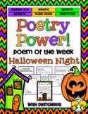 Halloween Poetry Power! Daily Literacy Practice
