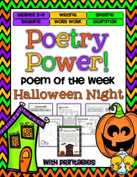 Poem of the Week: Halloween Poetry Power!