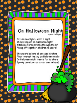 Halloween Poetry Sample
