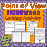 Halloween Point of View Partner Writing Activity: (plot &