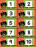 Halloween Points (Incentives, Games, Behavior, Rewards) FREE!