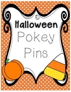 Halloween Pokey Pins