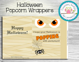 Halloween Popcorn Wrapper...Easy and adorable treat for yo