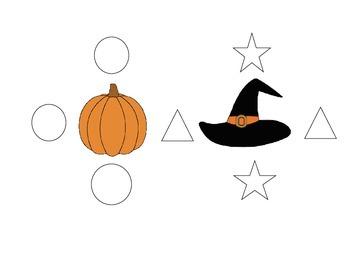 Halloween Positional Word Assessment or Worksheet