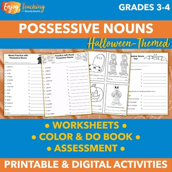 Halloween Possessive Nouns