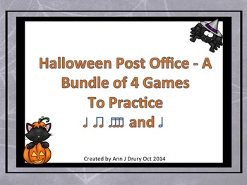 Halloween Post Office - A Bundle of Four Rhythm Games