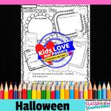 Halloween Activity Poster: Halloween Writing Activity