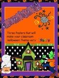 Halloween Poster Set