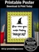 Halloween Poster { Writing Activity } Printable Teacher Cl