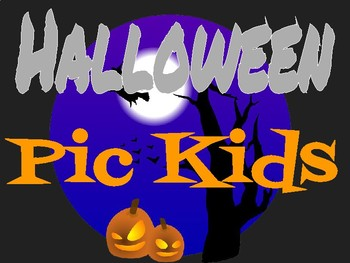 Halloween Poster using Pic Kids