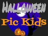 Halloween Poster using Pic Kids
