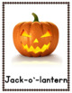 Halloween Vocabulary Posters for Autism, Special Ed, Speech Therapy