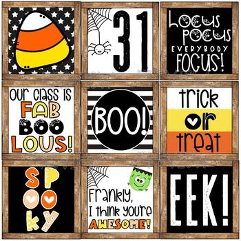 Farmhouse Halloween Decor Posters