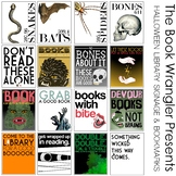 Halloween Posters & Bookmarks for Classroom & School Libraries