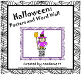 Halloween Posters and Word Wall in French!