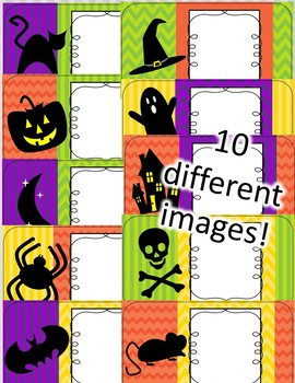 Halloween Power Point {Editable}