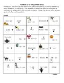 Halloween Power of 10 Maze