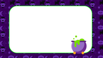 halloween powerpoint template by smart language arts tpt