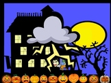"""Halloween Powerpoint Game """"Haunted House"""""""