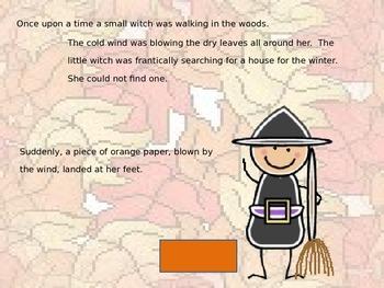 "Halloween Powerpoint Story "" The Little Orange House"
