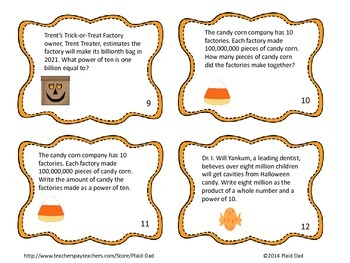 Halloween Powers of 10