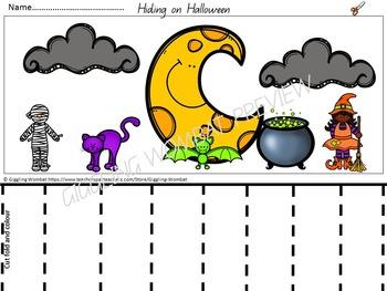 Halloween Math and Literacy Activities
