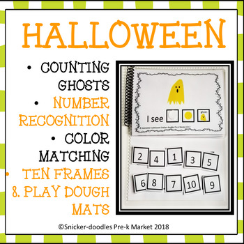 HALLOWEEN COUNTING 1 TO 10