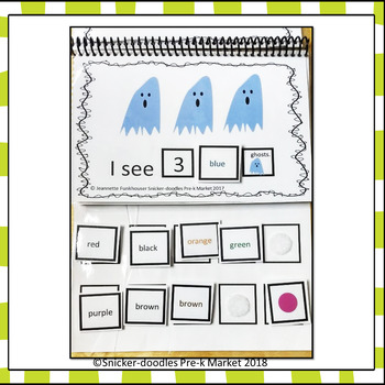HALLOWEEN ADAPTED BOOK COUNTING 1 TO 10