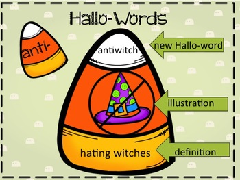 Halloween Prefix Suffix and Root Unit