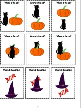 Halloween Preposition Fun
