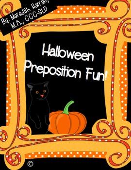 Halloween Preposition Fun