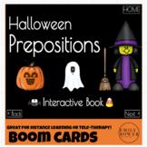 Halloween Preposition Interactive Book - Boom - Speech The