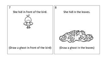 Halloween Preposition Practice
