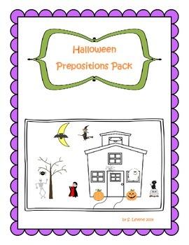Halloween Prepositions Pack