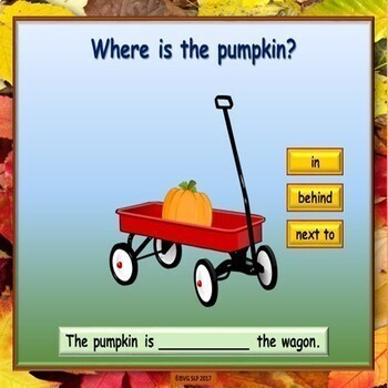 Halloween Prepositions and Following Directions BOOM CARDS - NO PREP NO PRINT