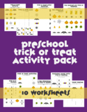Halloween Preschool Activity Packet