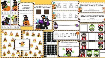 Halloween Preschool Pack