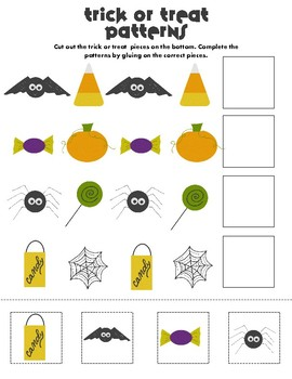 Halloween Preschool Patterns