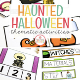 HALLOWEEN THEME ACTIVITIES FOR PRESCHOOL, PREK AND KINDERGARTEN