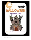 Halloween Preschool Printable Unit